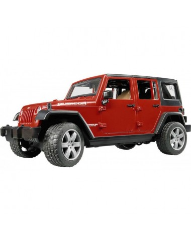 Внедорожник Jeep Wrangler Unlimited Rubicon BRUDER Артикул 02-525